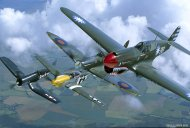 Kittyhawk, Spitfire, Mustang & Corsair - The Breitling Fighters  (FOFB49.03)